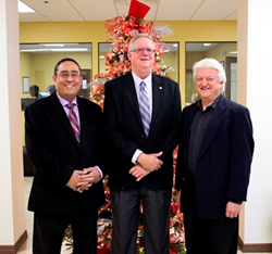 CEO Luis Colon, Bob Dillinger and Vice President Dr. Greg Winteregg DDS - MGE Management Experts